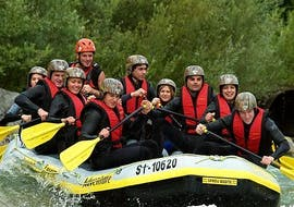 Enjoy rafting for adventurers and master the waves of the Enns river with Dachstein Tauern Adventure.
