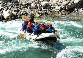 Rafting in the Sarine Gorges