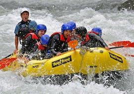 "Rafting in Imster Schlucht - ""Blue Water Power-Raft"""