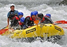 """Rafting in der Imster Schlucht - """"Blue Water Power-Raft"""""""