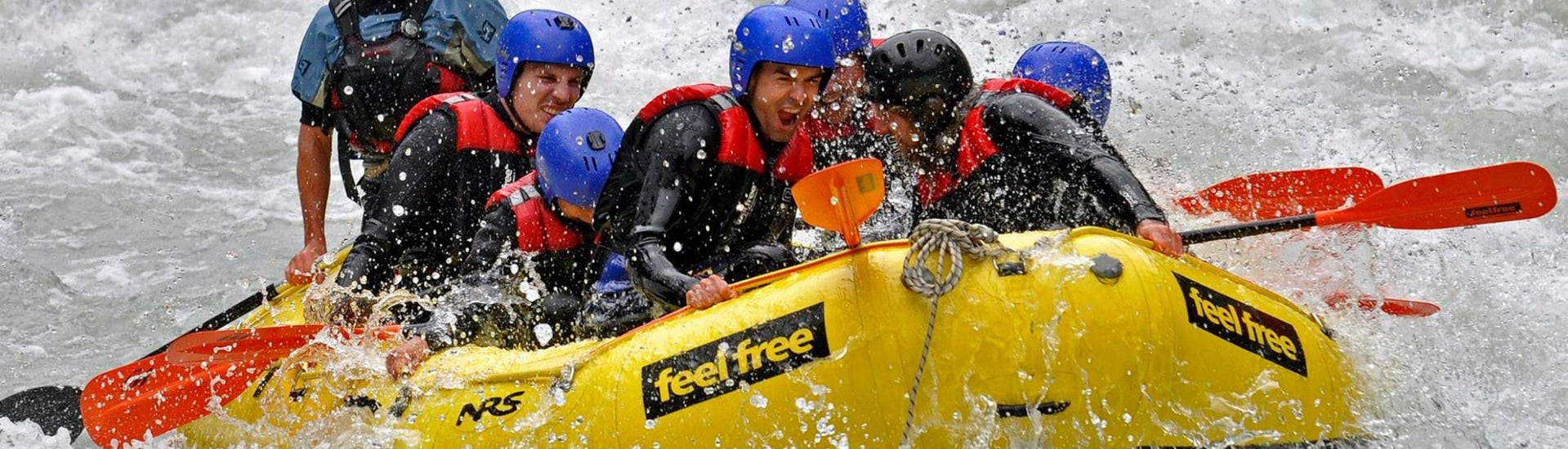 "Rafting in der Imster Schlucht - ""Blue Water Power-Raft"""