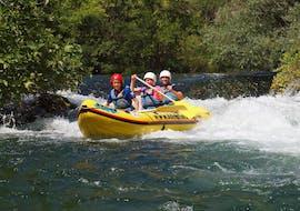 Rafting im Mini-Raft auf der Cetina