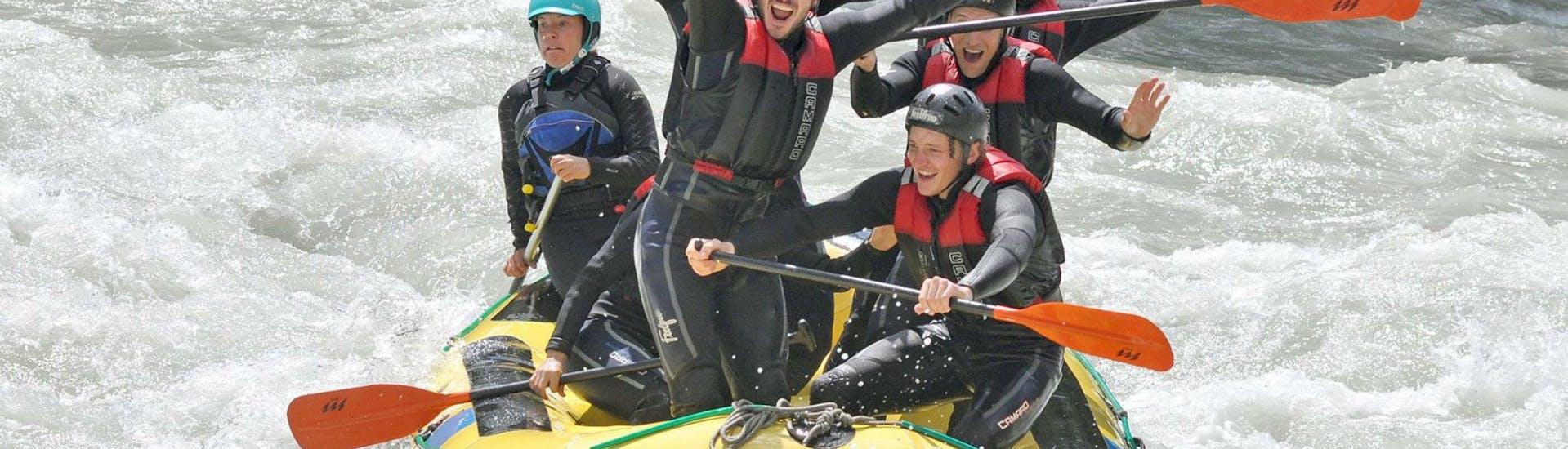 Rafting on Ötztaler Ache - White Water Professional Tour