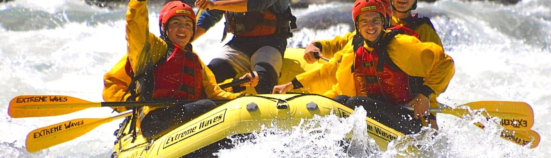 Rafting on the Noce for Families - Exciting
