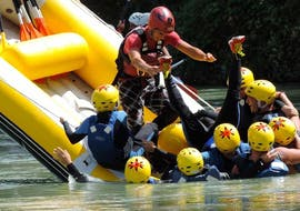 Rafting facile à Palenciana - Río Genil avec Gualay Aventura Andalucía
