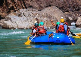 Rafting on Vispa - Matterhorn