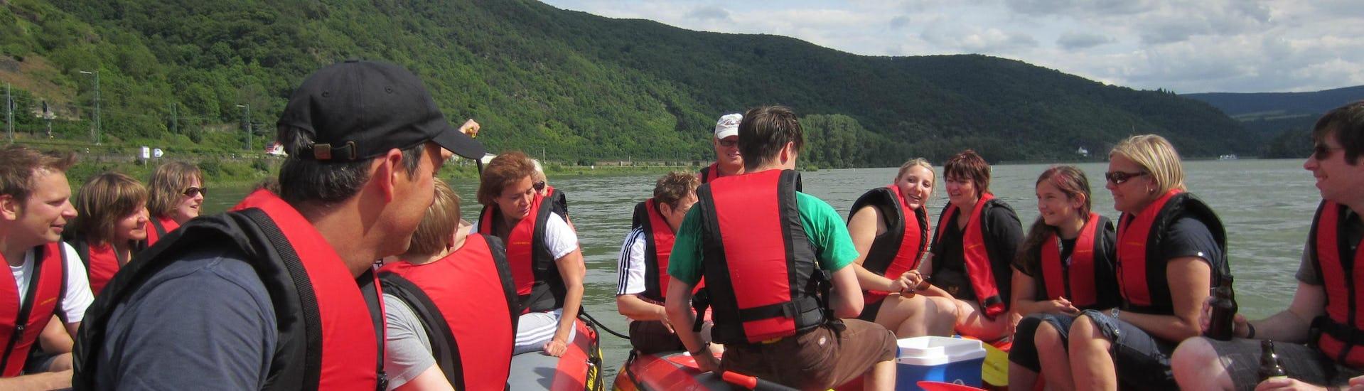 """Soft Rafting """"Rheinschleife"""" - Mittelrhein"""