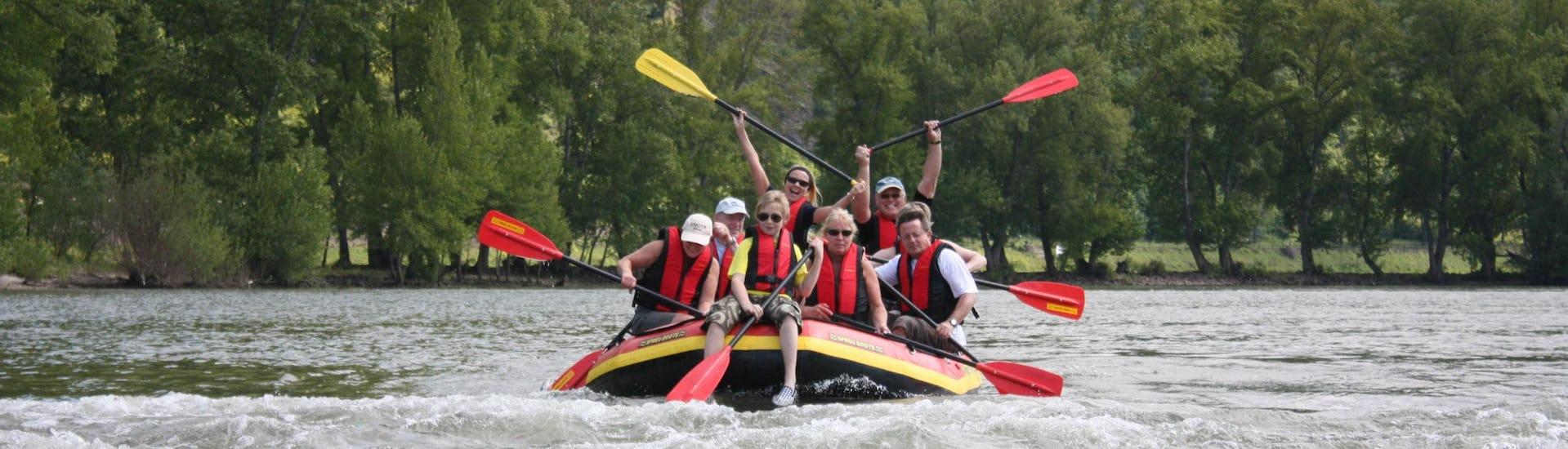 """Soft Rafting """"Binger Loch"""" - Mittelrhein"""