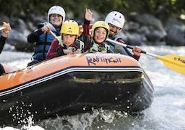 Rafting on the Dora Baltea for Families - First Experience