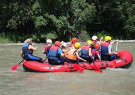 Rafting on the Gail river