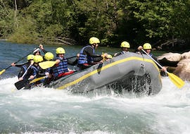 Rafting on the Isel River for Explorers - High Waves