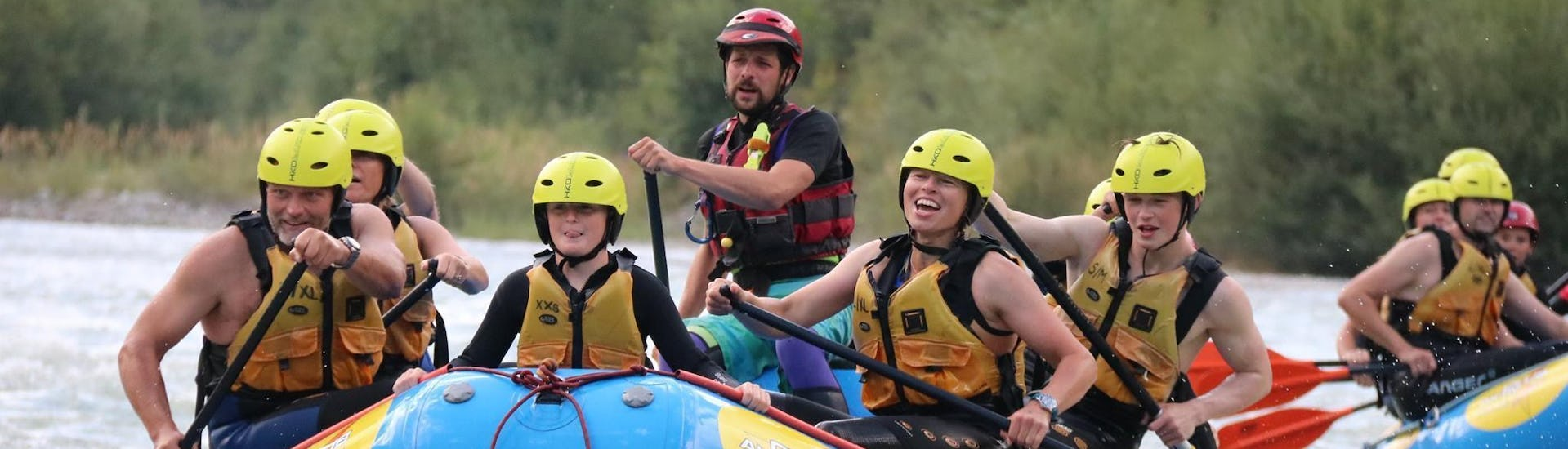 Rafting on the Isel River for Families