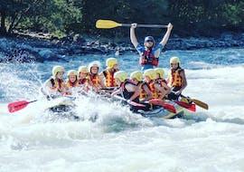Rafting sportif à Ainet - Isel avec Adventurepark Osttirol