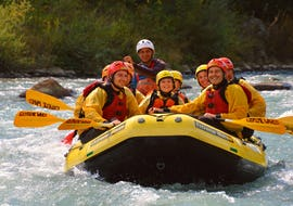 Rafting on the Noce for Families - Classic