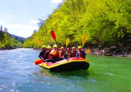 Rafting on the Saalach for Families (from 10 years)