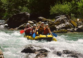 Rafting on the Salza for Beginners with BBQ