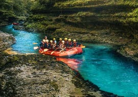 Rafting on the Salza for Families