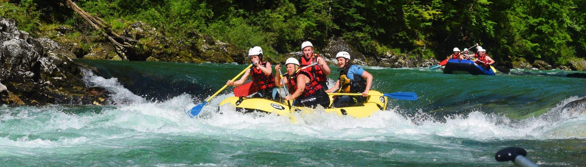 Rafting on the Salza for Sportspeople - Day Tour