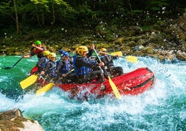Rafting auf der Salza - Halbtagestour