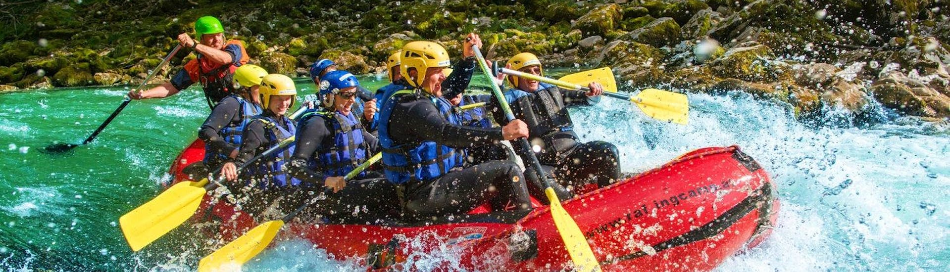 Rafting on the Salza - Extended Tour