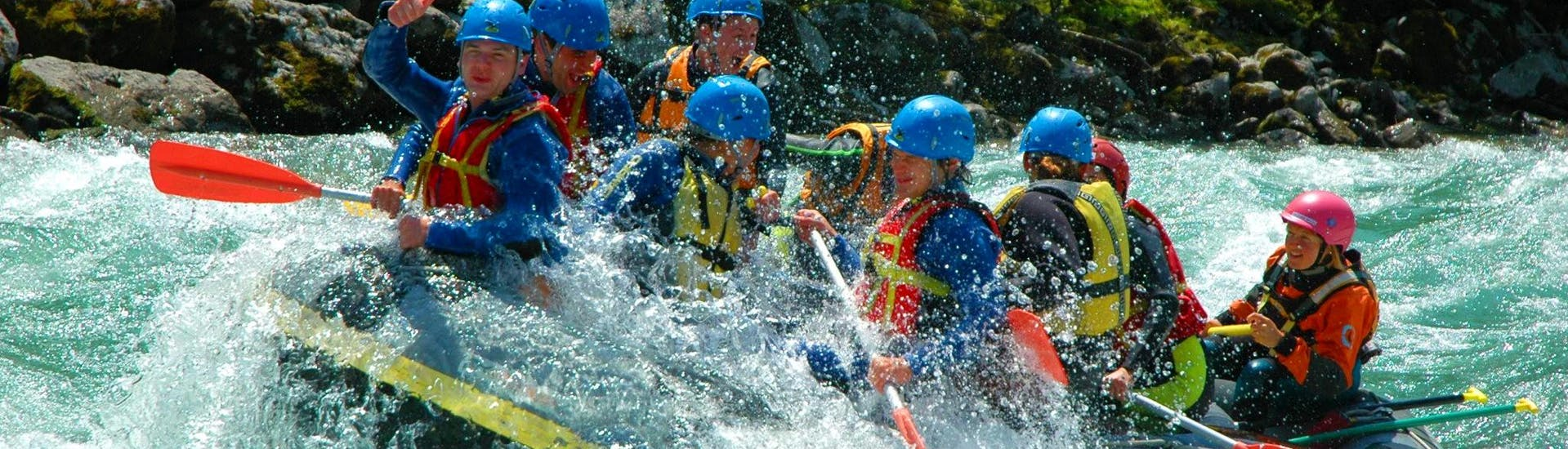 Rafting on the Salzach River