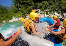 Rafting on the Soča River - Action Tour