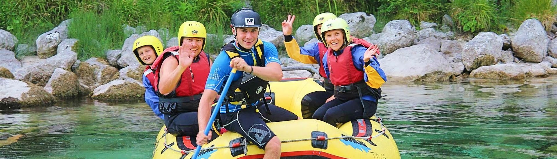 Rafting on the Soča River for Families