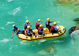 Rafting auf der Soča für Gruppen (ab 8 Personen)