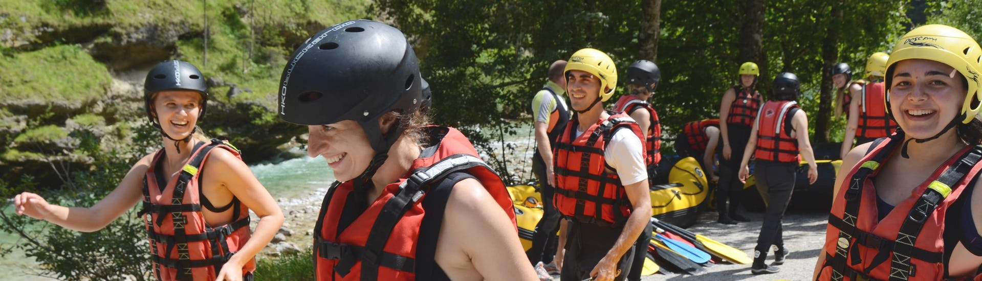 Rafting action