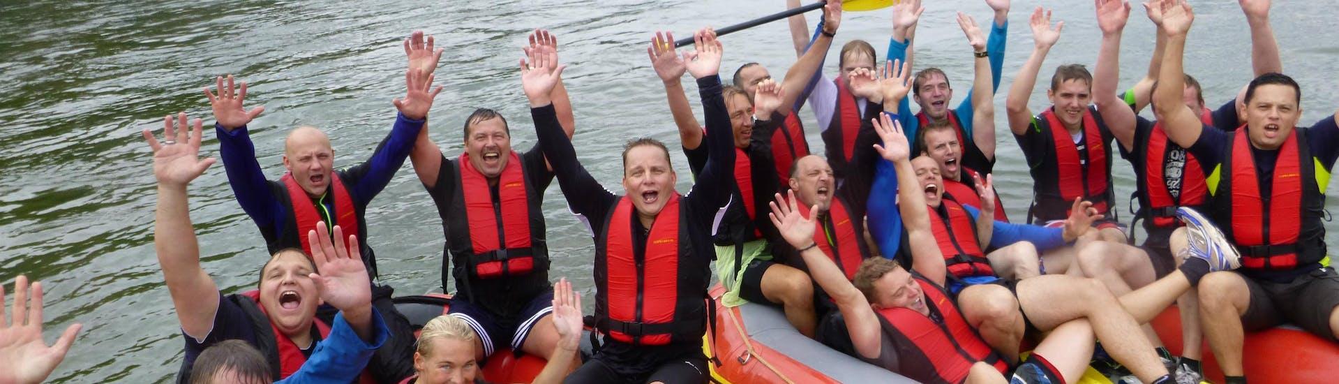 """Soft Rafting """"Bonn"""" für Gruppen - Rhein mit Aktiv Events Bredthauer - Hero image"""