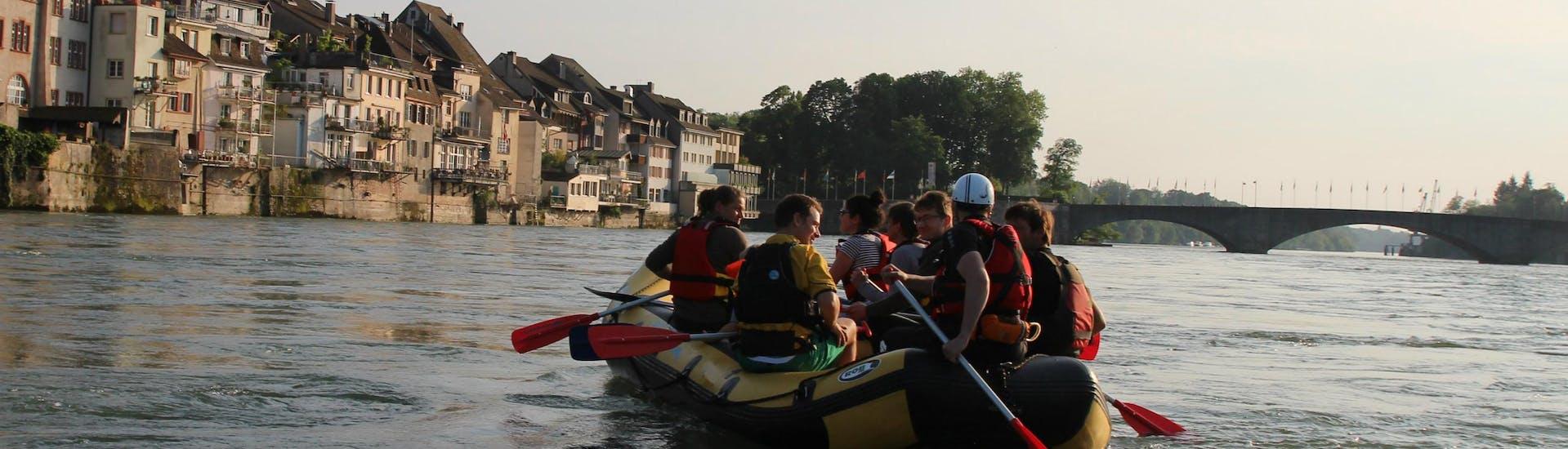"""Soft Rafting """"Rheinfelden"""" - Rhine"""