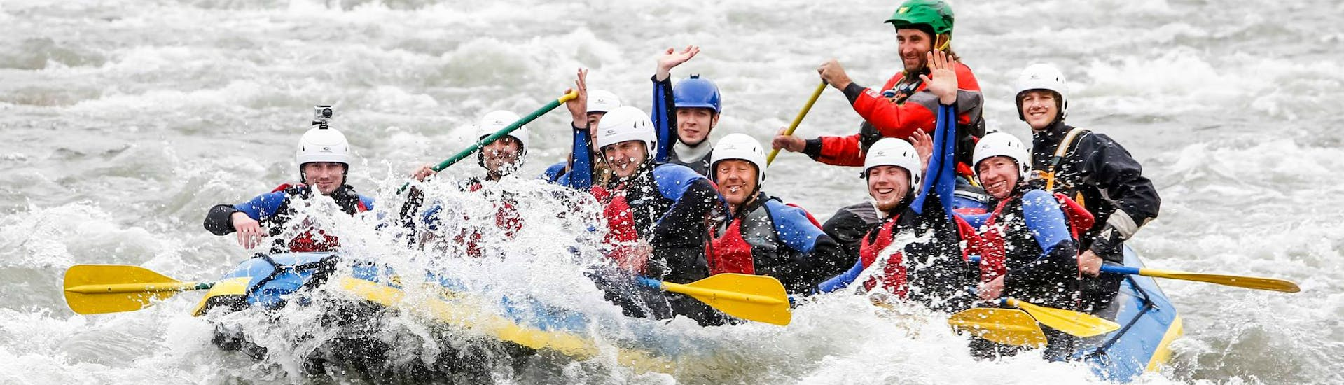 Rafting Day-Tour for Young & Old - Vorderrhein