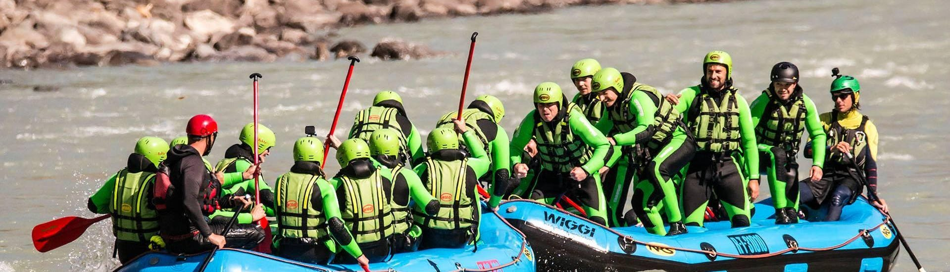 Rafting with the Bachelor in the Imster Schlucht