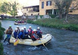 Rafting facile à Scheggino - Nera