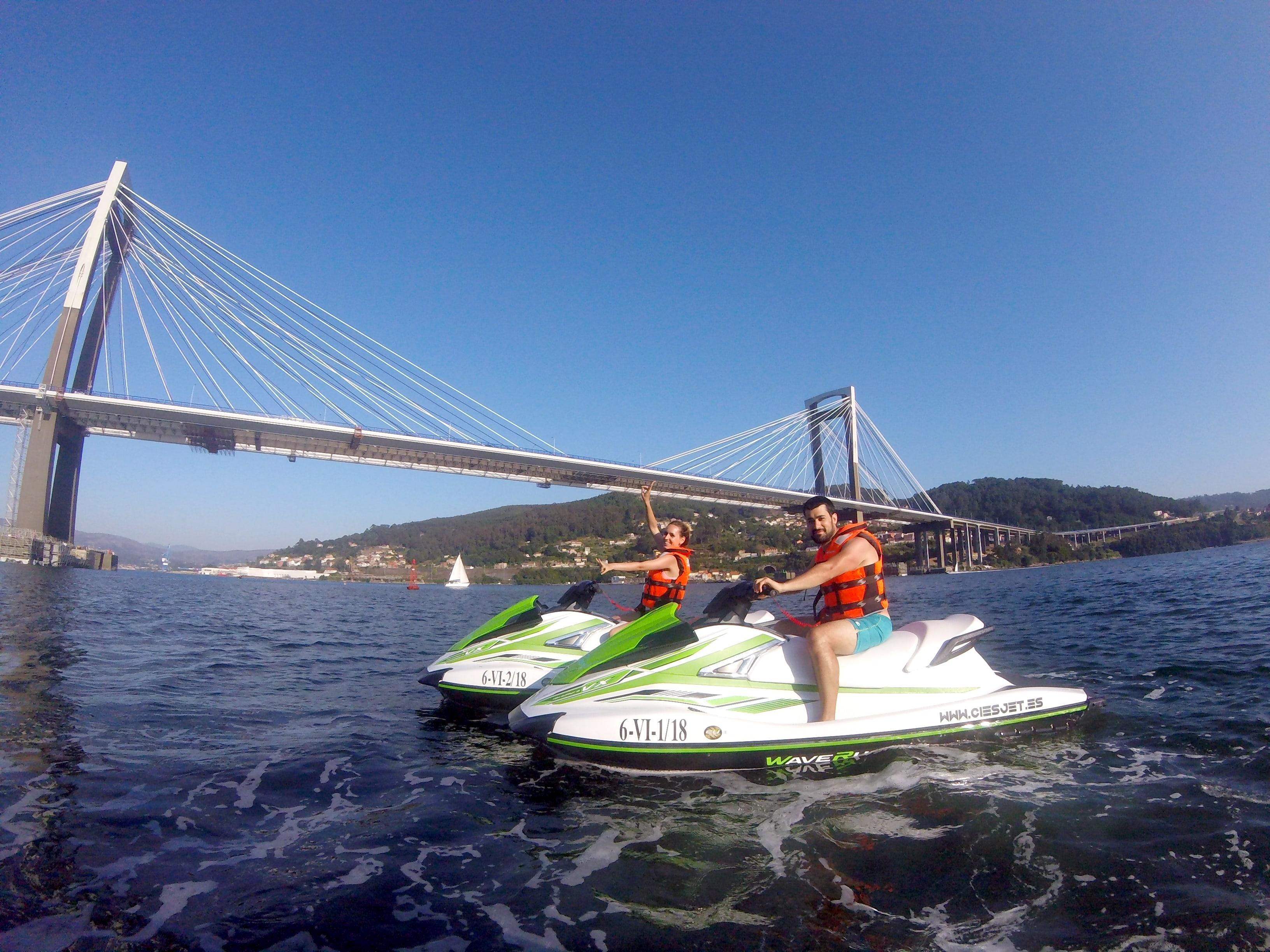 """Jet Ski Tour """"Rande Bridge"""" - Vigo"""