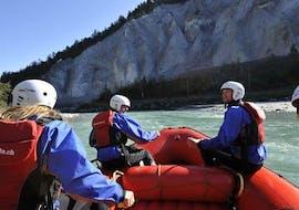 Rafting fácil en Reichenau - Vorderrhein