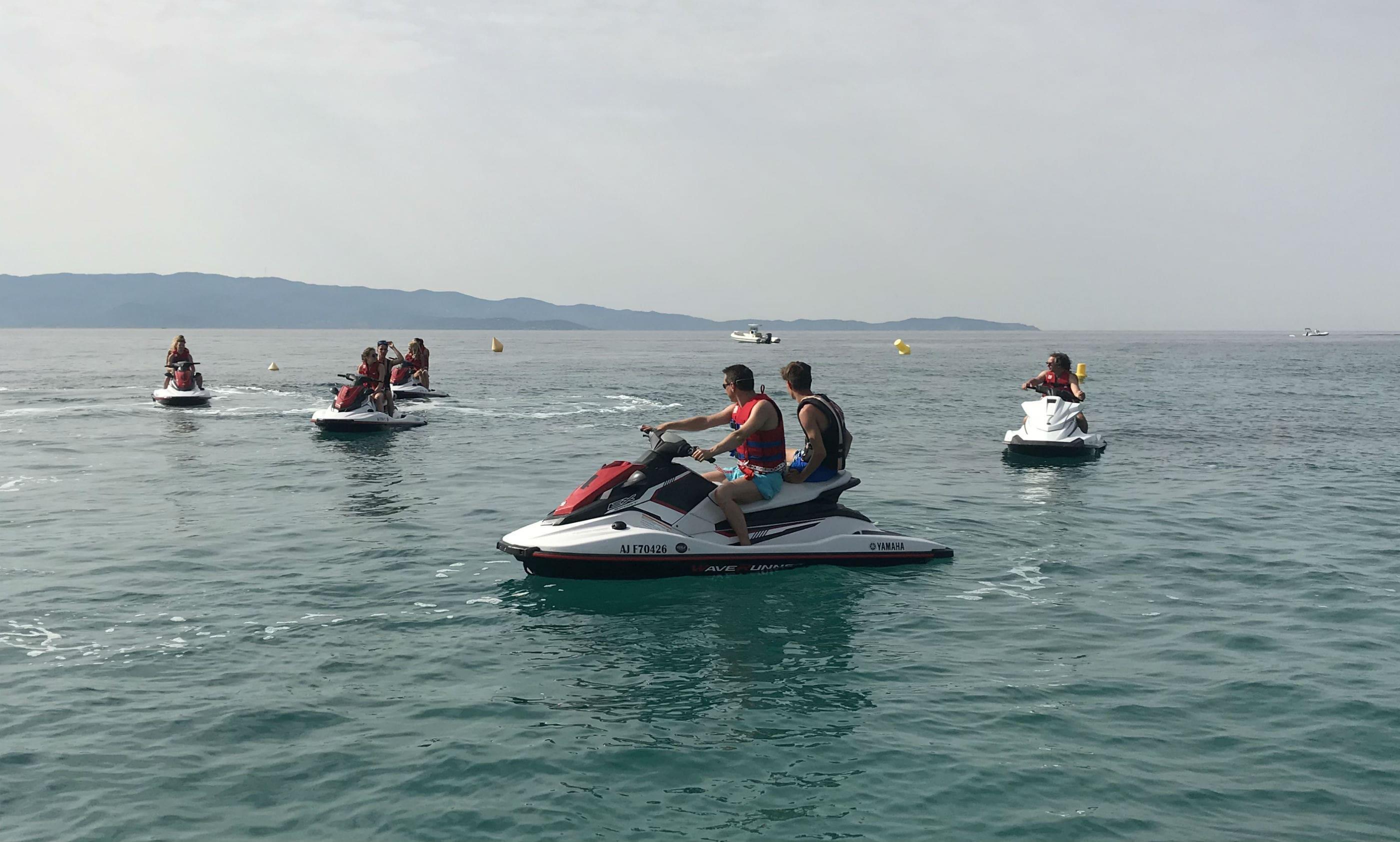 Jet Ski Tour - Baie d'Ajaccio