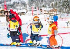 Skilessen voor kinderen vanaf 3 jaar - beginners met Ski School Jochberg