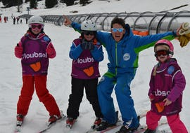 Kids Ski Lessons (4-5 years) - Low Season - All Levels