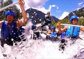 Rafting sportif à Ainet - Isel avec Eddy Rafting Austria