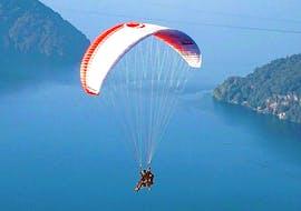 Tandem Paragliding vom Niederbauen - Thermik