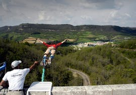 Bungee Jumping from Viaduc Sainte-Eulalie (50m)