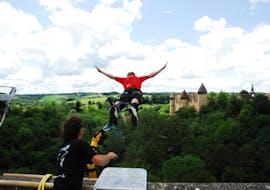 Bungee Jumping from Viaduc de Culan (55m)