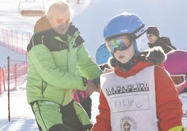 Kids Ski Lessons (6-12 y.) for All Levels - Half Day