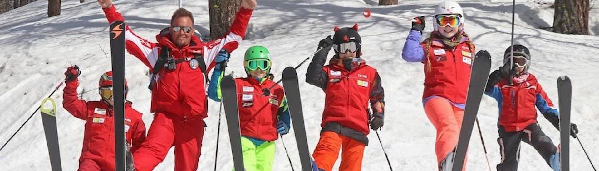 Kids Ski Lessons (4-14 y.) - All Levels