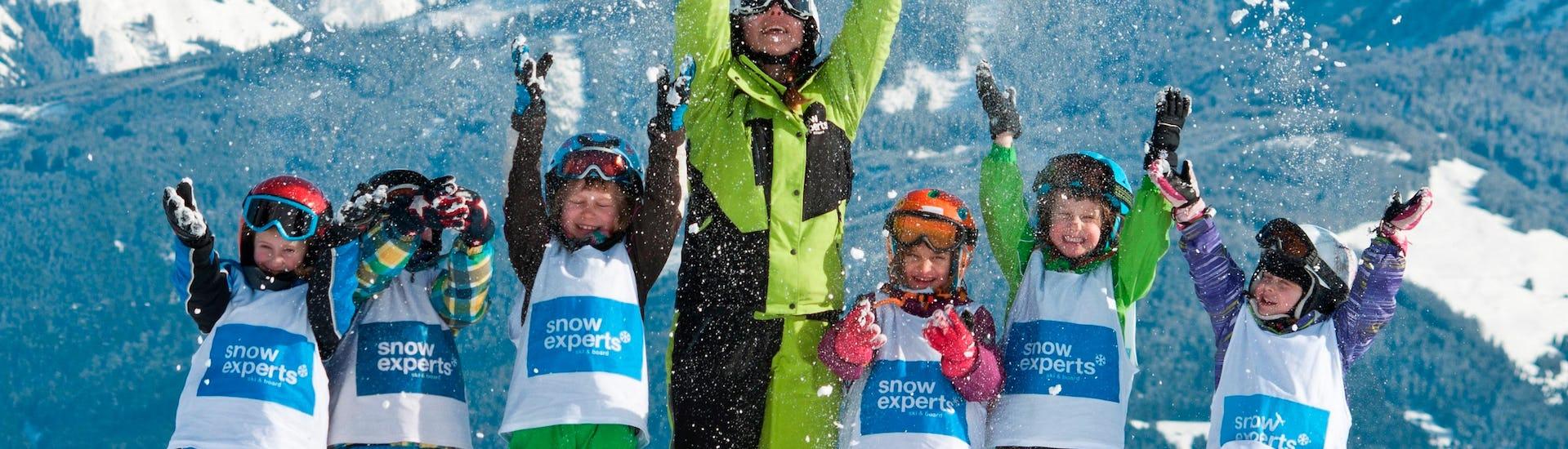 Kids Ski Lessons (5-14 years) - Intermediate