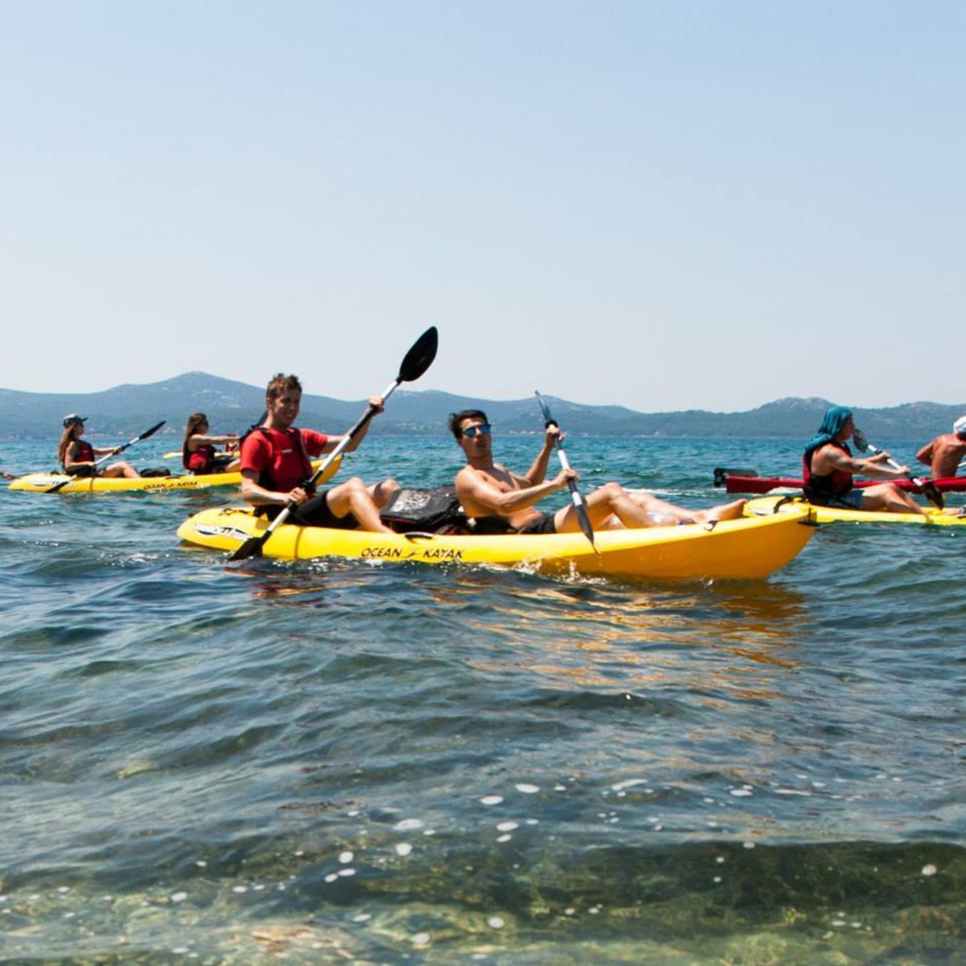 Eenvoudige Kanoën in Zadar