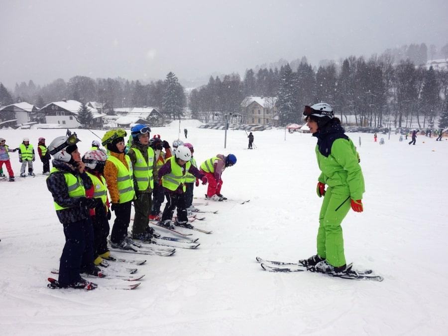 Lezioni private di sci per bambini a partire da 5 anni per tutti i livelli