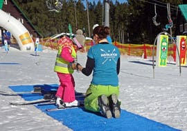 Skiing is Fun with our Ski Instructor during Private for Kids - Beginner