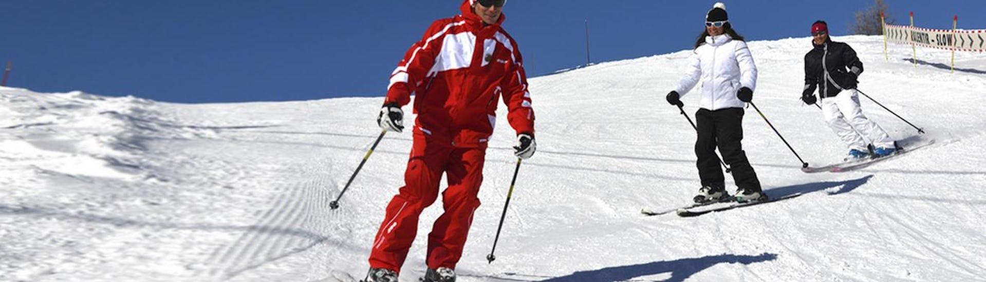 Ski Lessons for Teens & Adults - Morning - Beginner